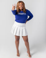 1920 Roman Numeral Sweater - Royal Blue