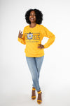 SGRho VOTE Crewneck- Gold [Unisex]