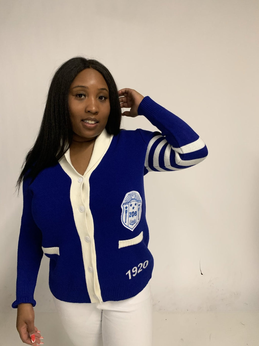 (FINAL SALE) Varsity Letterman - Size L/XL