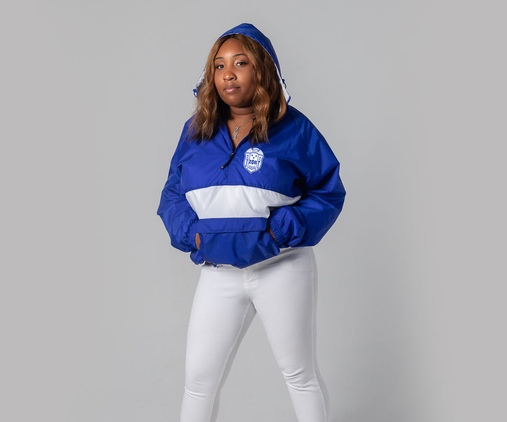 ZPhiB - Classic Striped Pullover - Blue