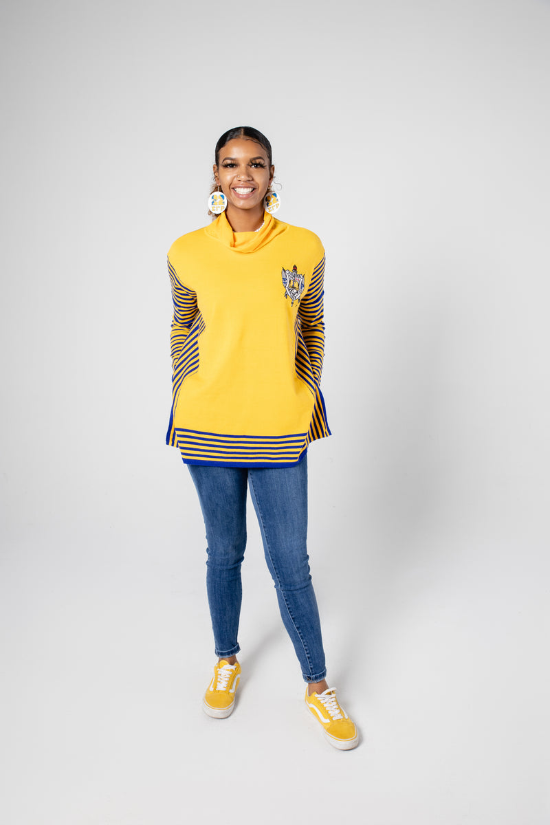 SGRHO Lined Poncho - Gold