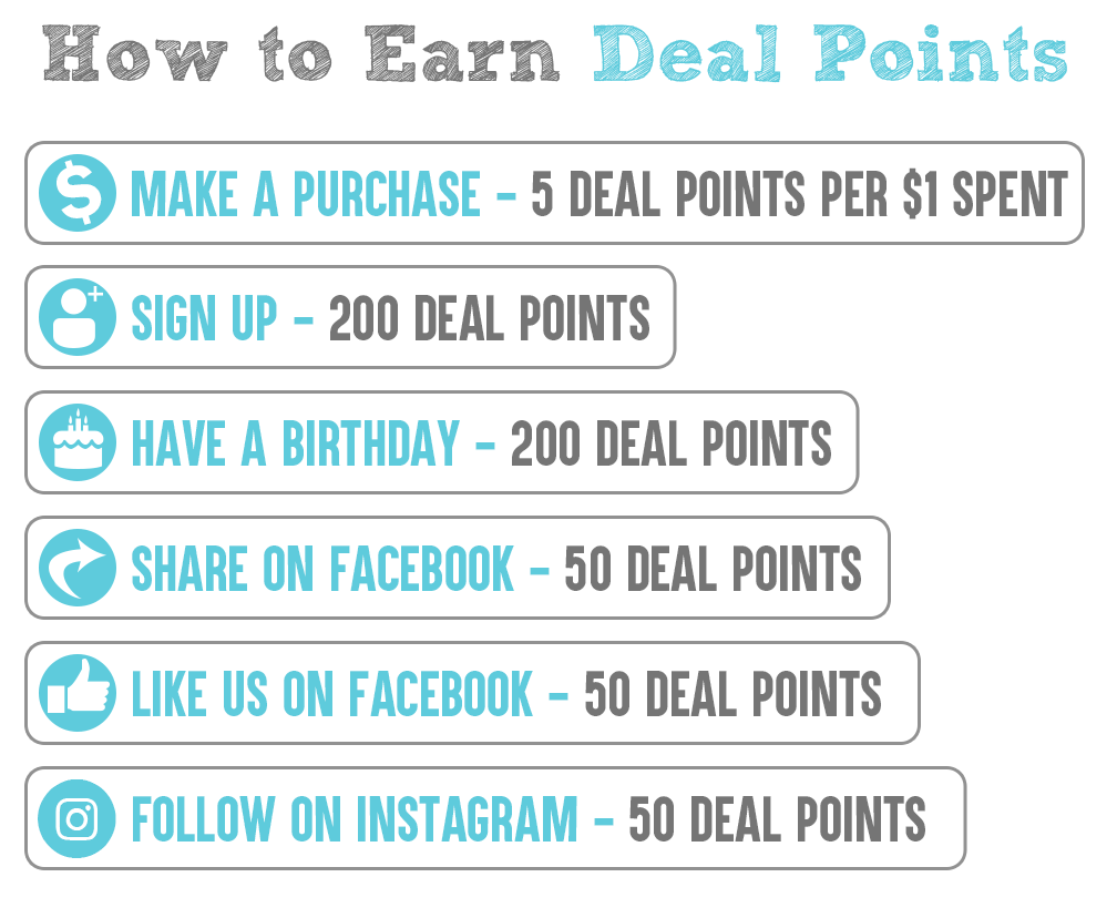 How to Earn Reward Points - Deal Society