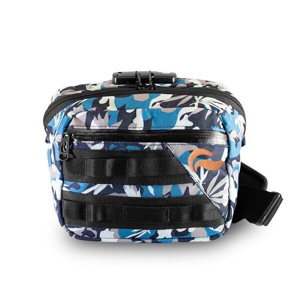 Skunk Kross Stash Storage Bag - Eliminate Odor, Stink, and Smelly Scent in a Carbon Lined Airtight Storage bag with Combo Lock