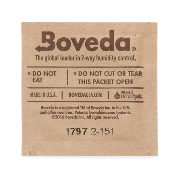 Boveda Two Way Humidity Control Packs 1 Gram 62%RH - 10 Pack-Boveda-Deal Society