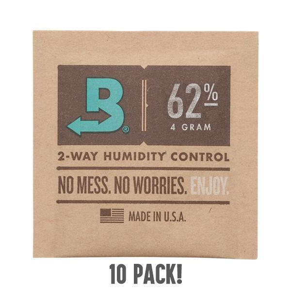 Boveda Two Way Humidity Control Packs 4 Gram 62%RH - 10 Pack-Boveda-Deal Society