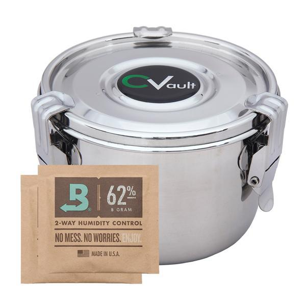 CVault Large Humidity Control Airtight Metal Container - CVault - Deal Society