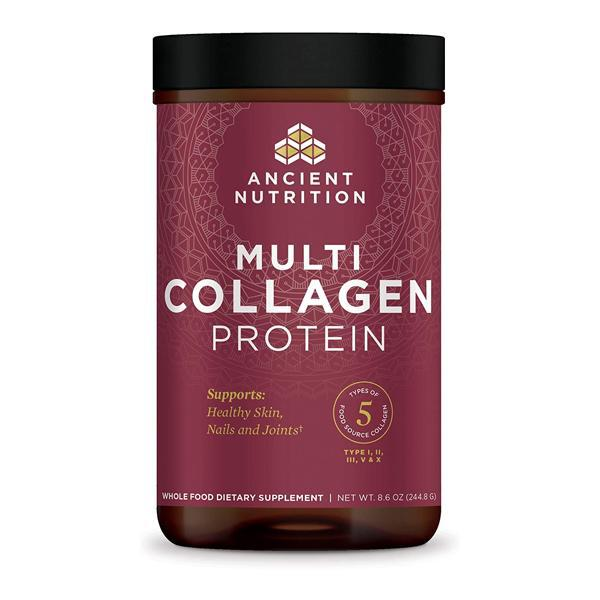 Ancient Nutrition Multi Collagen Protein Powder – Hair, Joint, Skin, Nail Support – 8.6oz