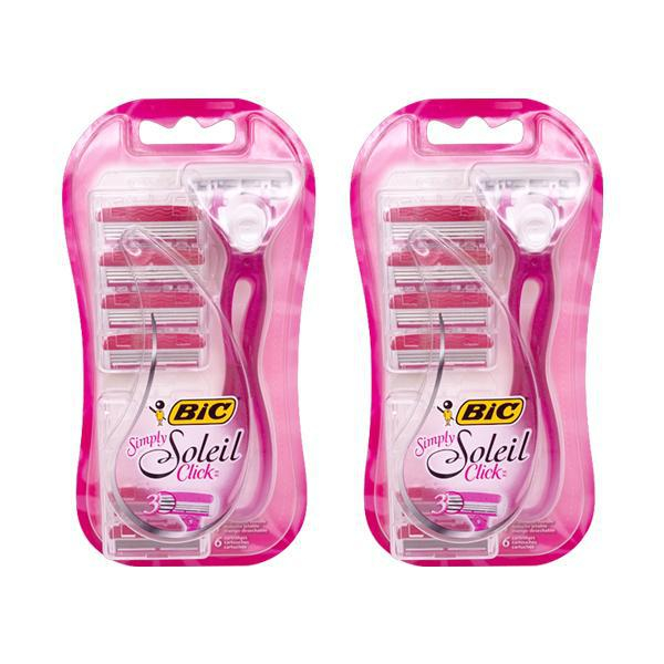 Bic Simply Soleil Click Disposable Razor For Women - 2 Pack