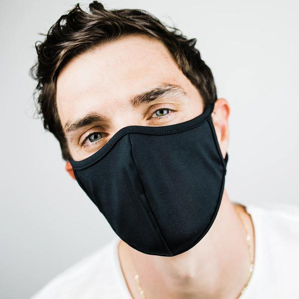 Fidelity Denim v2 Black Face Mask