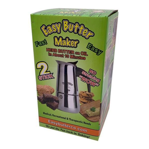 Easy Butter Maker 2 Stick  Extractor Butter Botanical Infuser Bundle