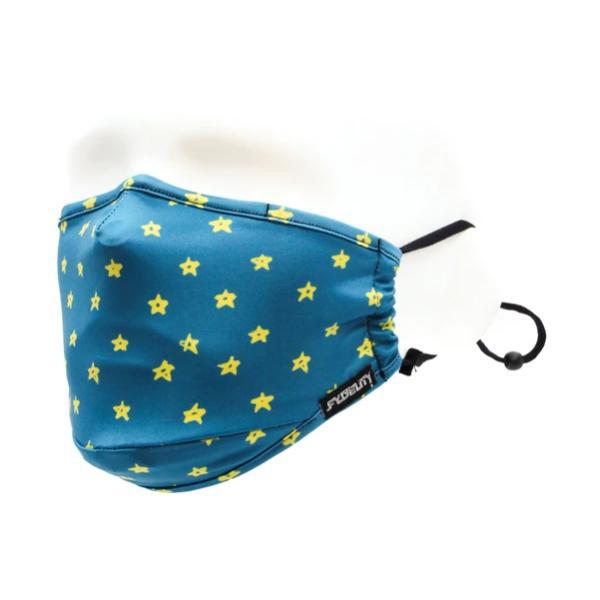 Fydelity Breathable Comfortable Fabric Cover Face Mask - Twinkle Twinkle