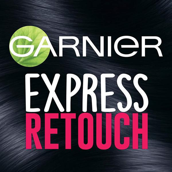 Garnier Hair Color Express Retouch Gray Hair Concealer, Black - 2 Pack