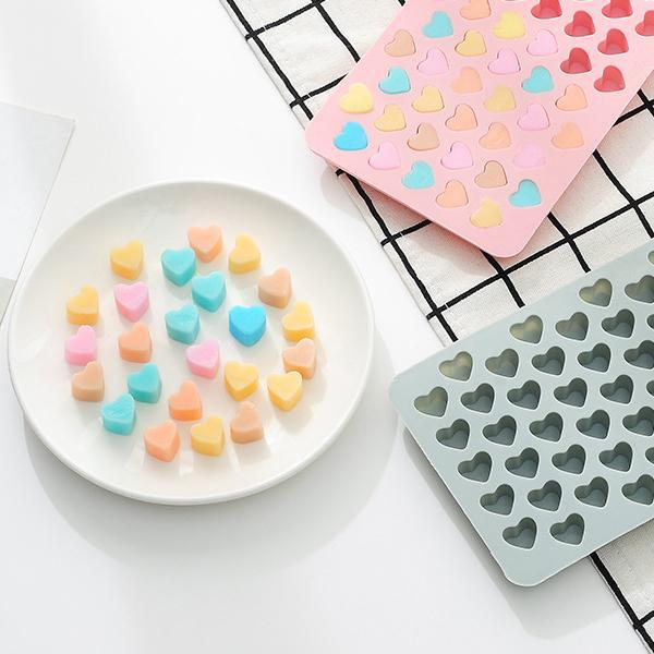 Silicone Gummy Heart Mold 3 Pack