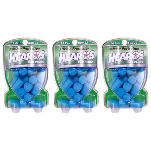 Hearos Ear Plugs Xtreme Protection Series 14 Count - 3 Pack