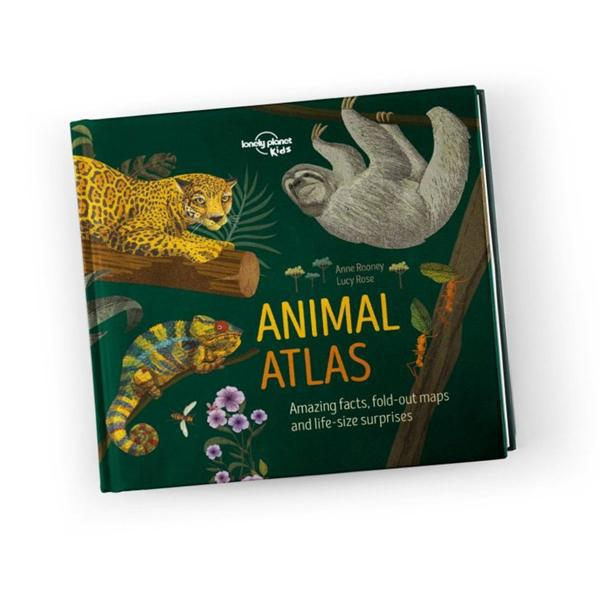 Lonely Planet Animal Atlas Illustrated Book