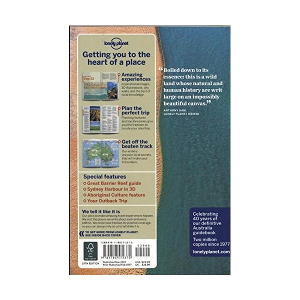 Lonely Planet Australia (Country Guide) Paperback Edition