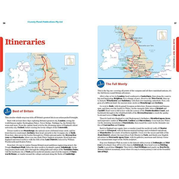 Lonely Planet Great Britain (Country Guide)