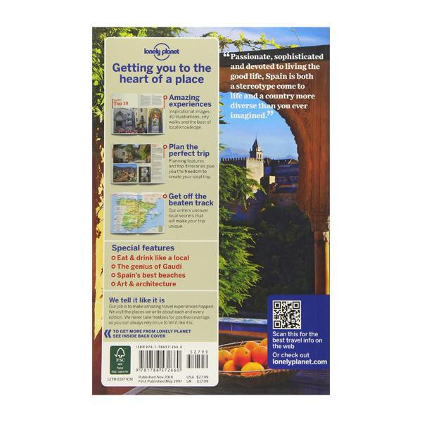 Lonely Planet Spain (Country Guide)