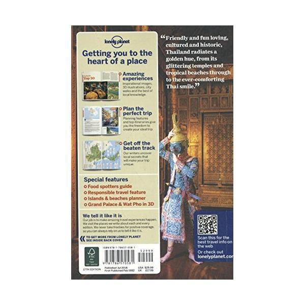 Lonely Planet Thailand (Country Guide) Paperback