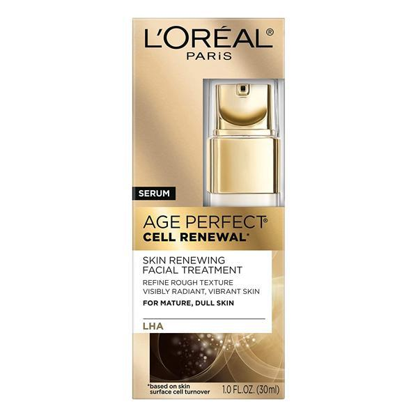 L'Oreal Paris Age Perfect Cell Renewal Anti Aging Facial Treatment for Mature, Dull Skin