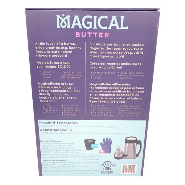Magical Butter Machine MB2e Herbal Extractor Bundle w/ Decarbox - 2020 Edition