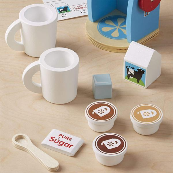 Melissa & Doug Brew and Serve Wooden Coffee Maker Set