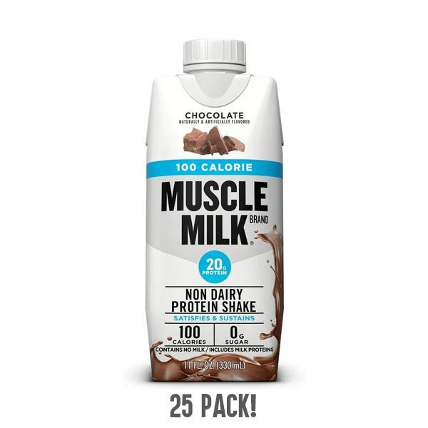Muscle Milk Chocolate RTD Non Dairy Protein Shake 11 fl oz - 25 Pack