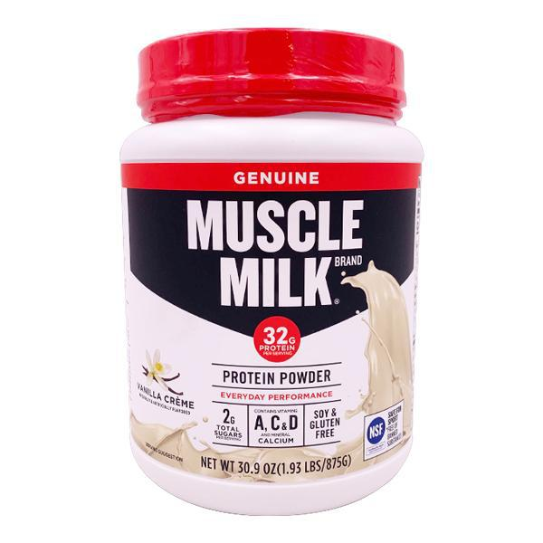 Muscle Milk Lean Muscle Vanilla Creme Protein Powder - 1.93 lbs
