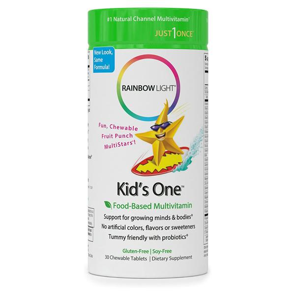 Rainbow Light Kid's One Multivitamin - 30 Chewable Tablets
