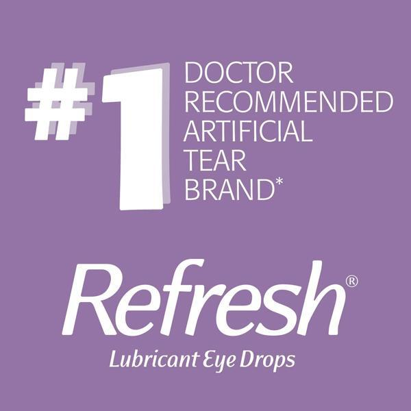 Refresh Optive Advanced Lubricant Eye Drops - 10mL