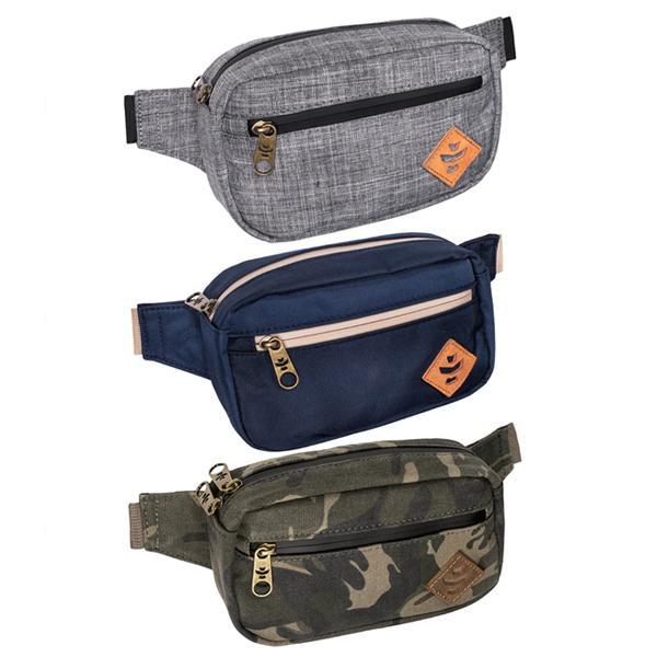 Revelry Companion Smell Proof Water Resistant Carbon Lined Crossbody Pack