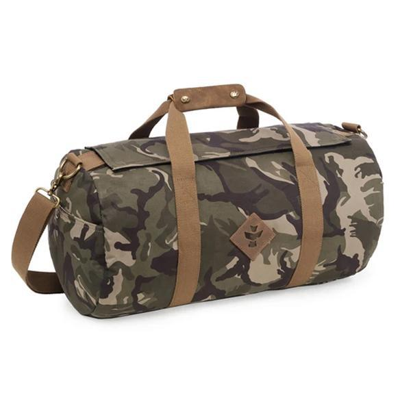 Revelry Overnighter Smell Proof Water Resistant Carbon Lined Duffel Bag