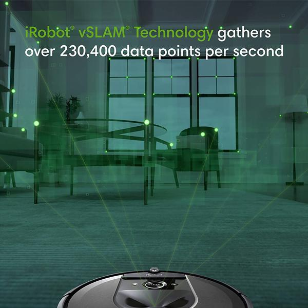 iRobot Roomba i7+ (7550) Robot Vacuum with Automatic Dirt Disposal WiFi Connected