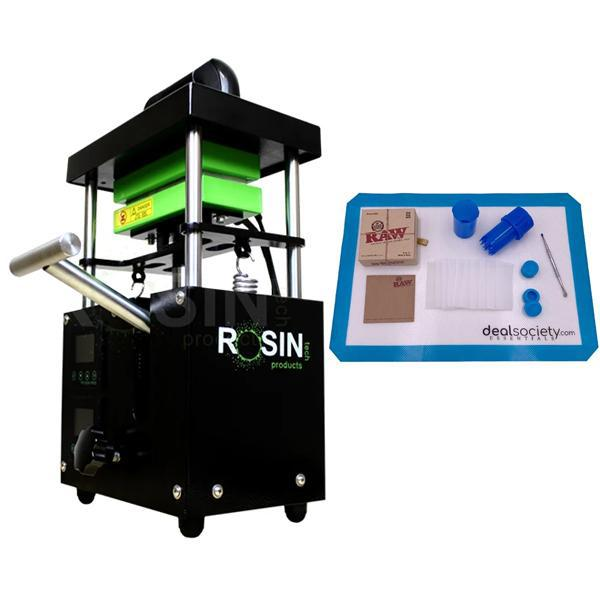 Rosin Tech BIG Smash 4 Ton Manual-Hydraulic Rosin Press Bundle