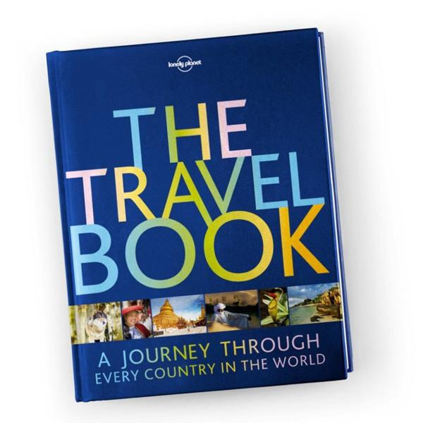 The Travel Book: A Journey Through Every Country in the World Hardcover Edition (Lonely Planet)