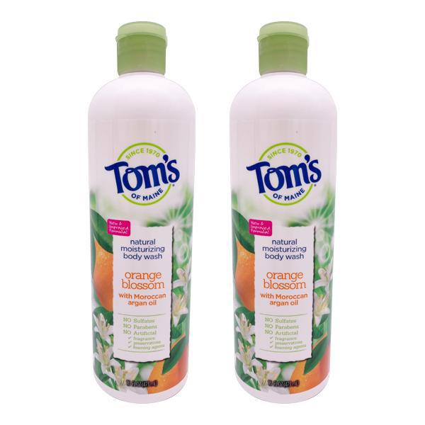 Tom's of Maine Natural Body Wash Orange Blossom 16oz - 2 Pack
