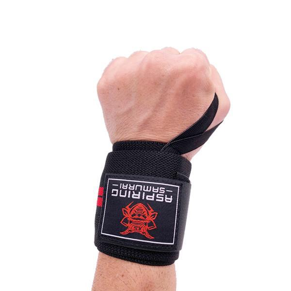 Wrist Wraps and Lifting Straps for Weightlifting with Liquid Chalk Bundle