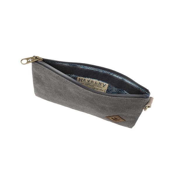 Revelry Broker Smell Proof Water Resistant Carbon Lined Money Bag-Revelry-Smoke-Deal Society
