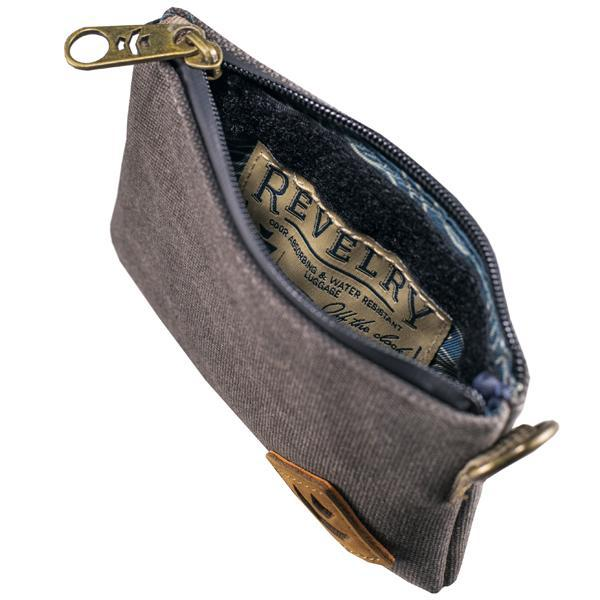Revelry Mini Broker Smell Proof Water Resistant Carbon Lined Money Bag-Revelry-Smoke-Deal Society