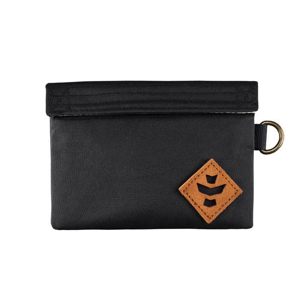 Revelry Mini Confidant Smell Proof Water Resistant Carbon Lined Bag-Revelry-Black-Deal Society