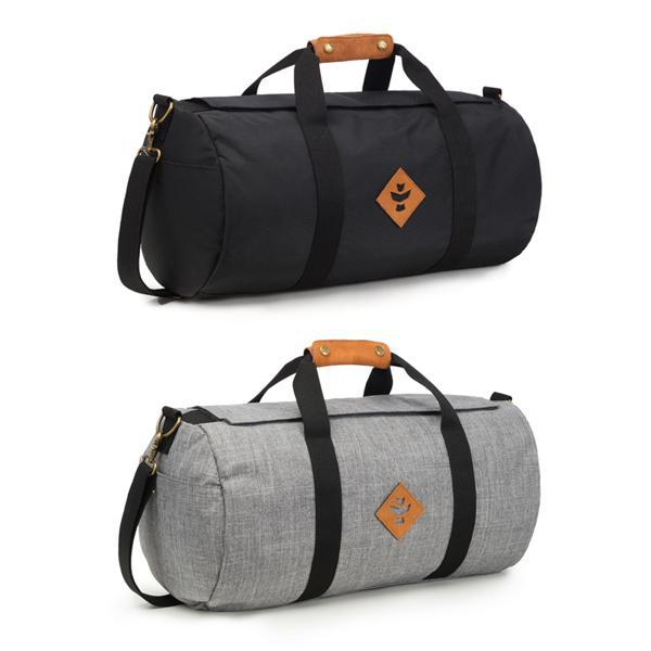 Revelry Overnighter Smell Proof Water Resistant Carbon Lined Duffel Bag-Revelry-Black-Deal Society