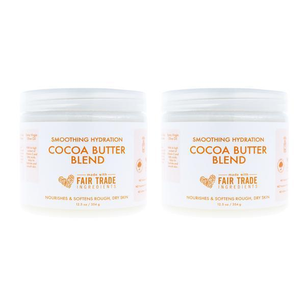 Shea Moisture Smoothing Hydration Cocoa Butter Blend Body Cream 12.5 oz - Lot of 2-Shea Moisture-Deal Society