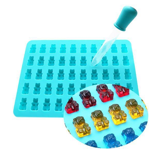 Silicone Gummy Bear Mold 3 Pack-Deal Society-Deal Society
