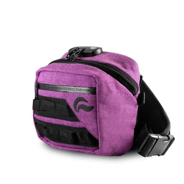 Skunk Kross Stash Storage Bag - Eliminate Odor, Stink, and Smelly Scent in a Carbon Lined Airtight Storage bag with Combo Lock-Skunk-Purple-Deal Society