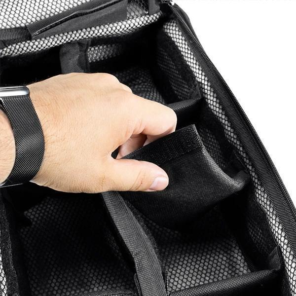 Skunk RIG PACK BackPack Smell Proof Odor Proof Bag with Combo Lock-Skunk-Black-Deal Society
