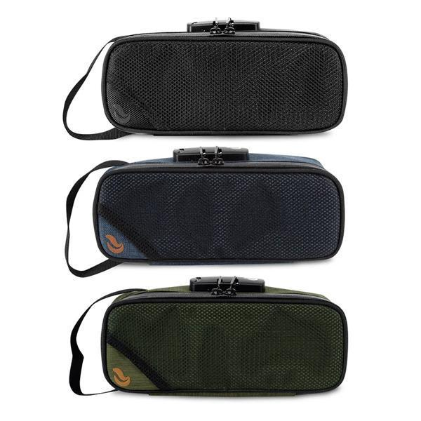 Skunk Sidekick Medium Smell Proof Odorless Stash Storage Case - Eliminate Odor, Stink, and Smelly Scent in a Carbon Lined Airtight Storage-Skunk-Black-Deal Society