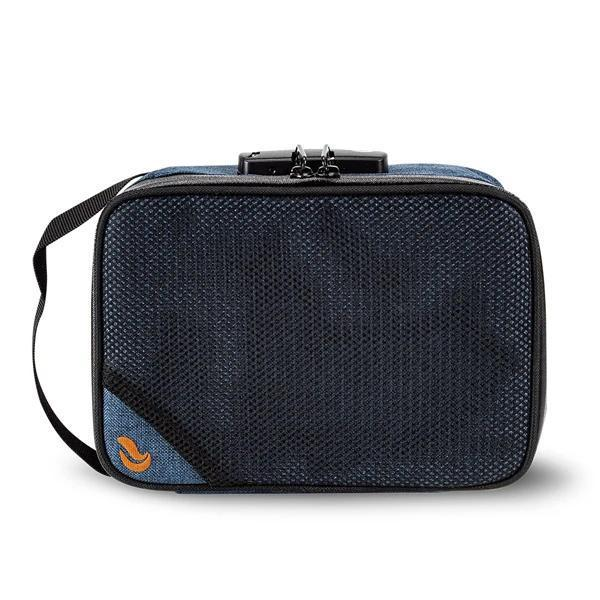 Skunk SideKick Smell Proof Odor Proof Stash Storage Bag Carbon Lined with Combo Lock-Skunk-Blue-Deal Society