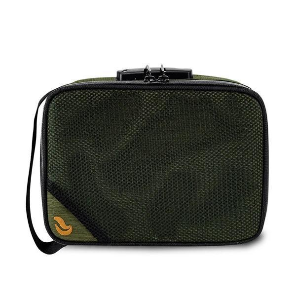 Skunk SideKick Smell Proof Odor Proof Stash Storage Bag Carbon Lined with Combo Lock-Skunk-Green-Deal Society