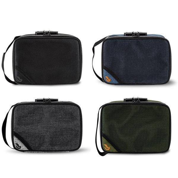 Skunk SideKick Smell Proof Odor Proof Stash Storage Bag Carbon Lined with Combo Lock-Skunk-Black-Deal Society