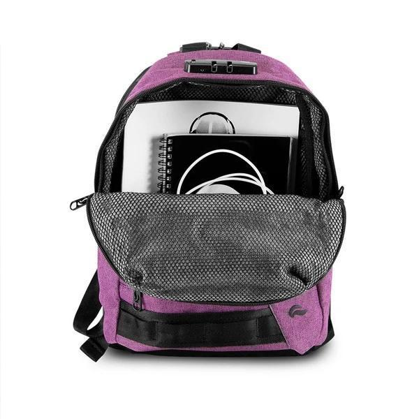 Skunk Smell Proof Mini Backpack Eliminate Odor, Stink, and Smelly Scent in a Carbon Lined Airtight Storage Bag-Skunk-Black-Deal Society